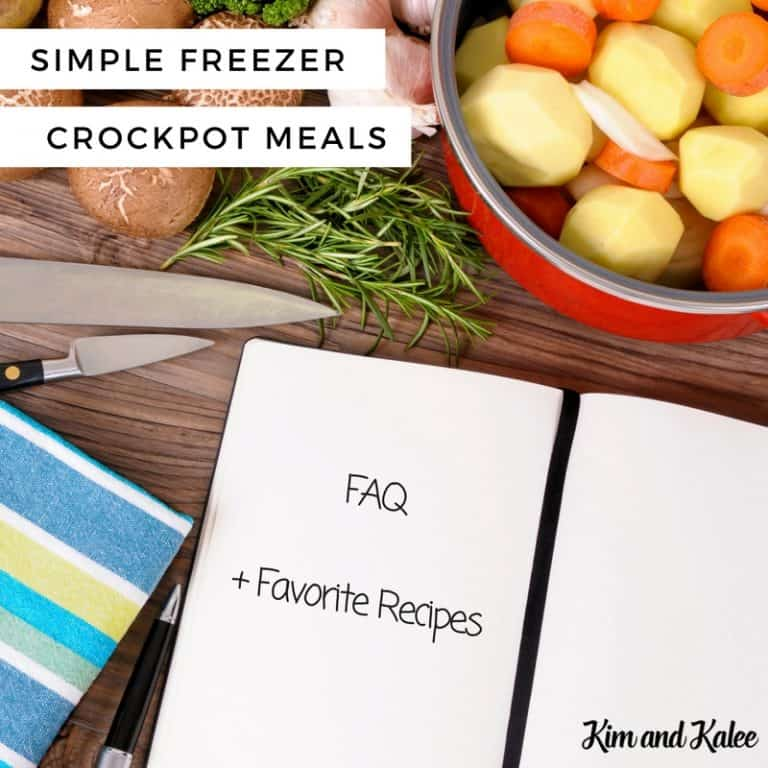 Crockpot Freezer Meals FAQ: Is it Safe? Plus Simple Healthy Recipes