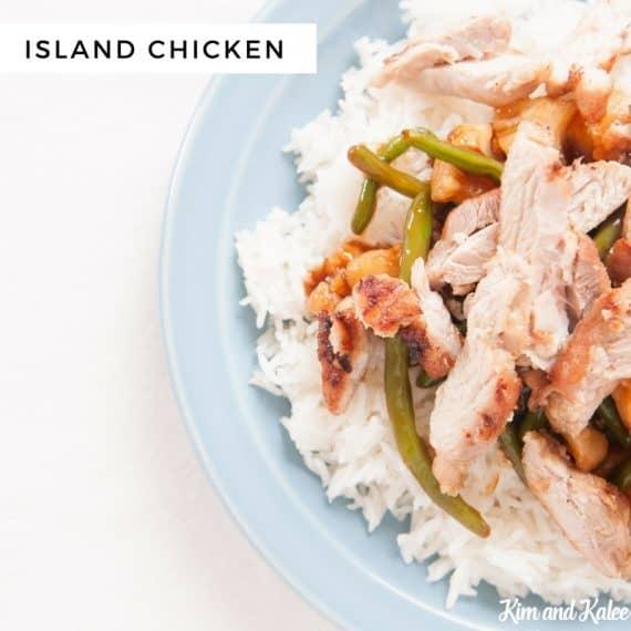 island chicken freezer crockpot meals