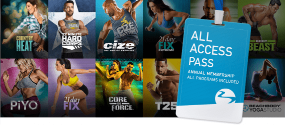beachbody all access pass $99