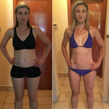 Beachbody on Demand Before and After from 21 Day Fix
