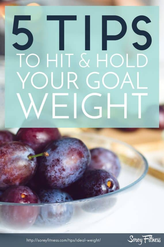 Stop stressing over the scale. These 5 secrets to getting to your ideal weight are so simple to follow!