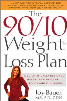 90/10 weight-loss plan by joy bauer