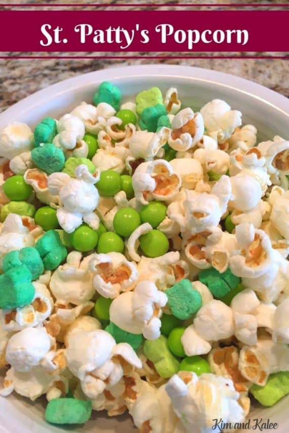 St Patricks Day Popcorn