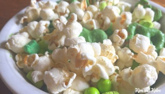 St Patrick's Day Recipe for Popcorn