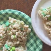 st patricks day treats rice krispys