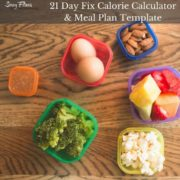 21 Day Fix Calorie Calculator