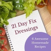 21 day fix Dressing