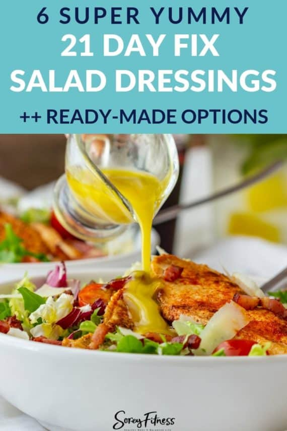 21 day fix dressing recipes