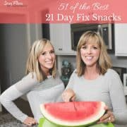 21 day fix snacks