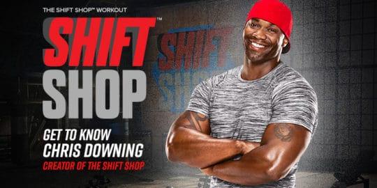 Beachbody Shift Shop Workout Trainer Chris Downing