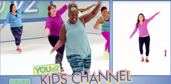 YouV2 Kid Friendly Dance Workout