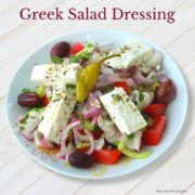 21 Day Fix Approved greek salad dressing