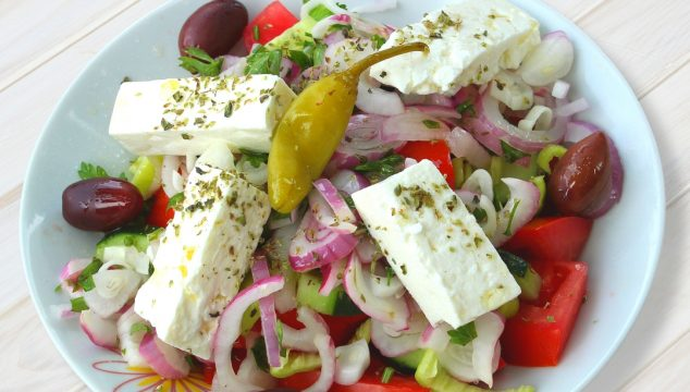 21 Day Fix Greek Salad Dressing – A Go-To Lunch