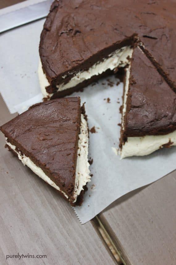Vegan gluten free dairy-free dessert