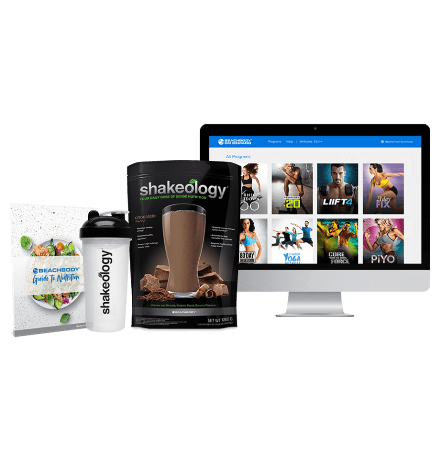 The Beachbody on Demand Challenge Pack with Shakeology and Workouts