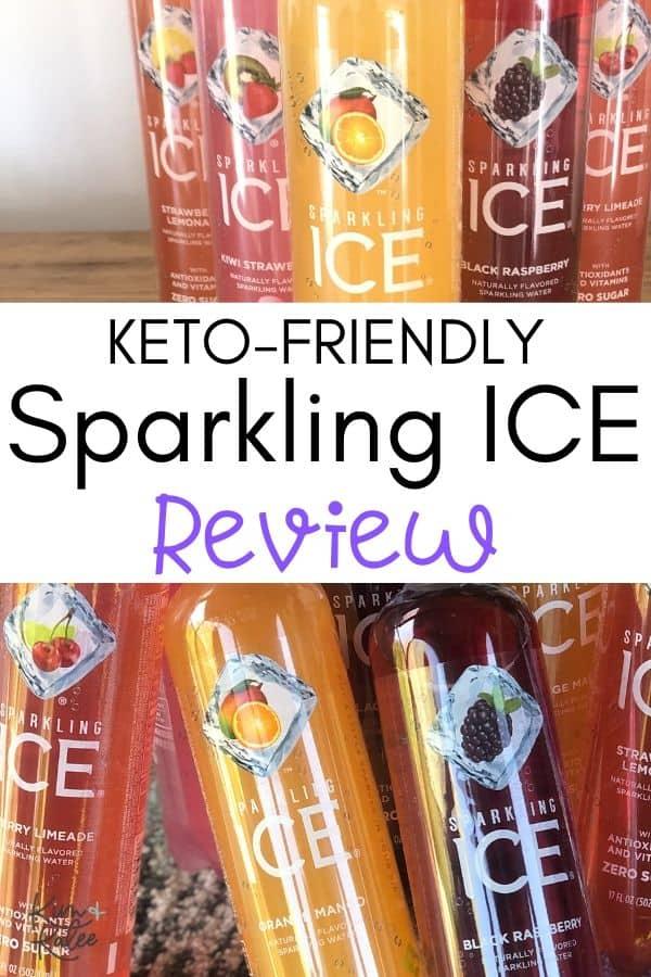 Keto Friendly Sparkling ICE bottles