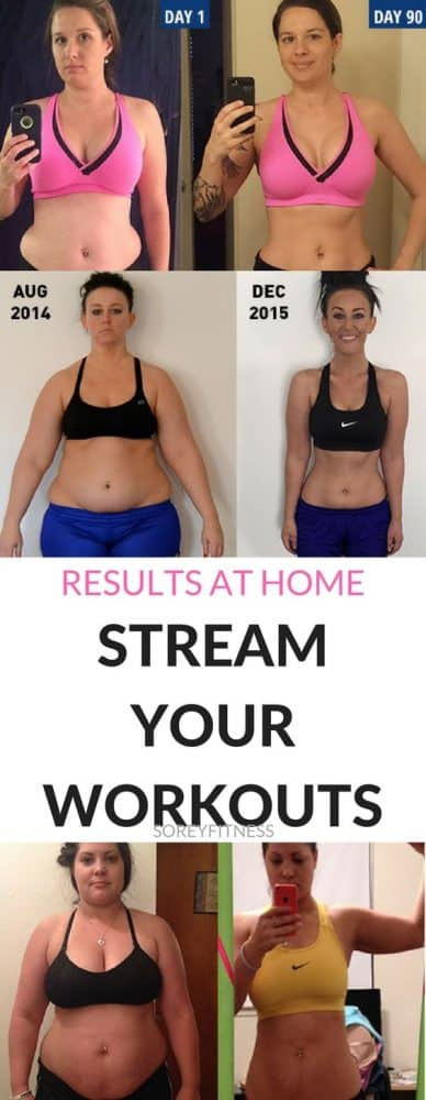 You'll love being able to stream your workouts! Get access to everything from yoga and strength training to dance and cardio classes for under $10 a month!