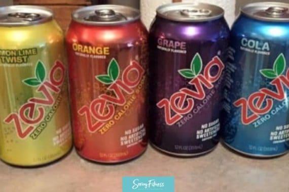 Zevia instead of Diet Coke or Sodas