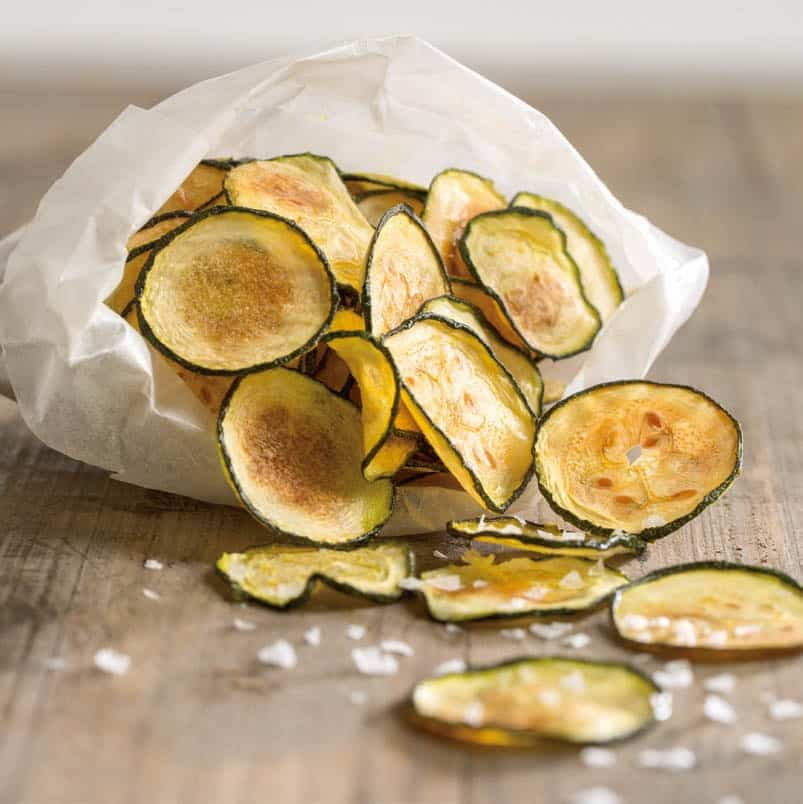 Zucchini Chips from FIXATE Cookbook