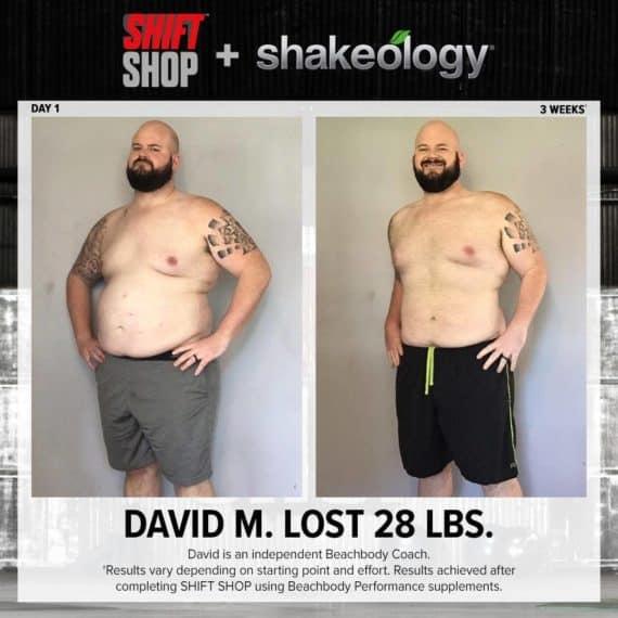 david m shift shop results