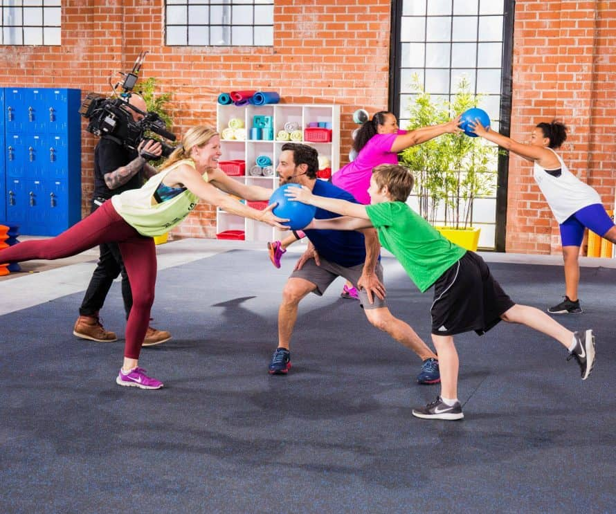 Looking for kid workouts that you'll enjoy too? Double Time is perfect for moms and their kids, couples or siblings! Check out this fun partner workout now!
