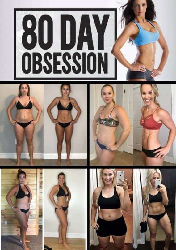 80 day Obsession Results Before and After