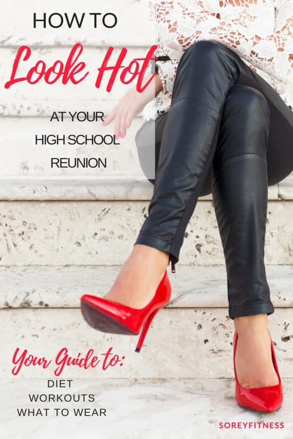 We all want to know how to look hot for our high school reunion. We dig into Dr. Colbert's High School reunion diet and share our fit and fashion tips!