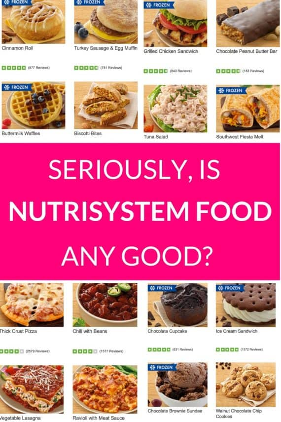 Nutrisystem Reviews Food Good