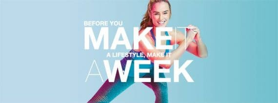 Megan Davies and Beachbodys Clean Week is a 7-day program. It combines 30-minute workouts, simple meal plans, and support to help you kickstart your weight loss.