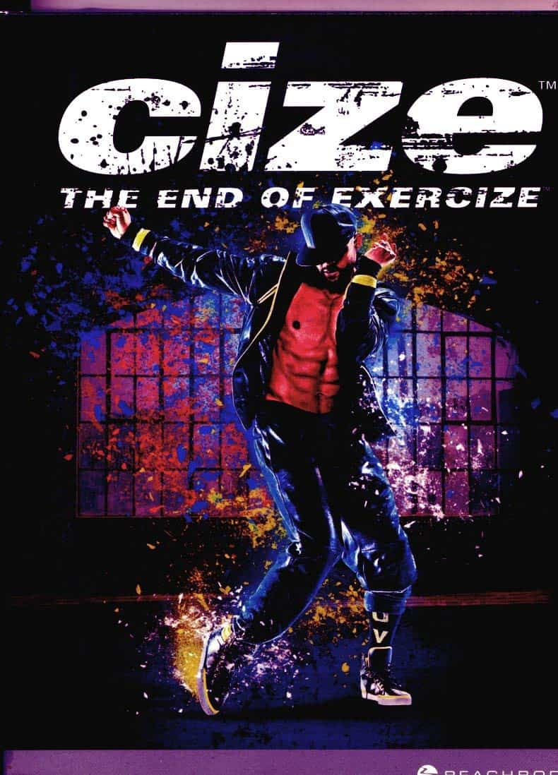 Cize Workout promotional picture with Shaun T dancing