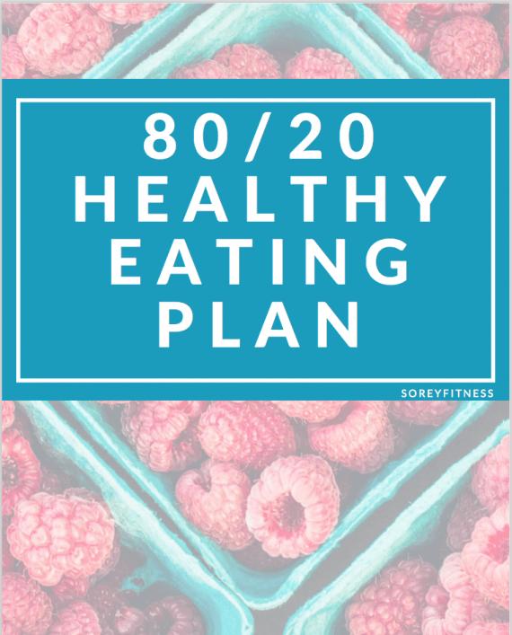 80 20 Healthy Eating Plan