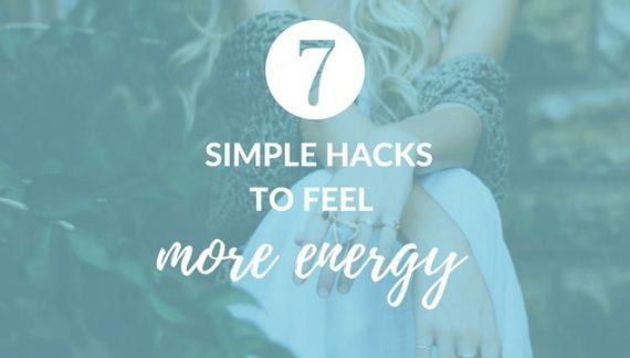 7 Surprising Tricks to Feeling More Energy