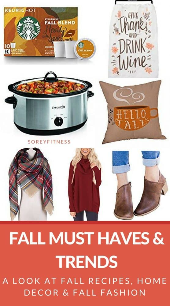 Our favorite Fall Must Haves and Trends for 2019 include fashion sweaters and booties under $25 plus recipes, home decor and fall date ideas on a budget.