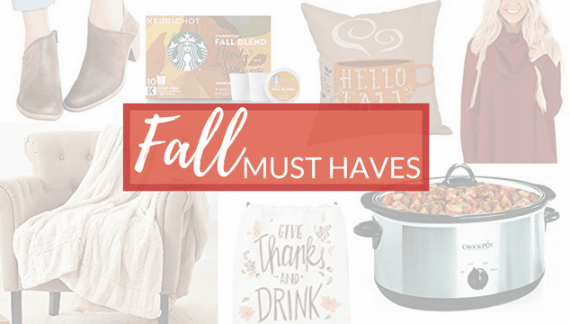 2017 Fall Must Haves and Trends – Home, Fashion and More Under $30