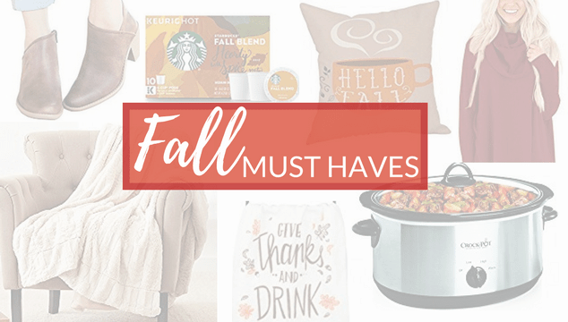 Fall Must Haves and Trends – Home, Fashion and More Under $30