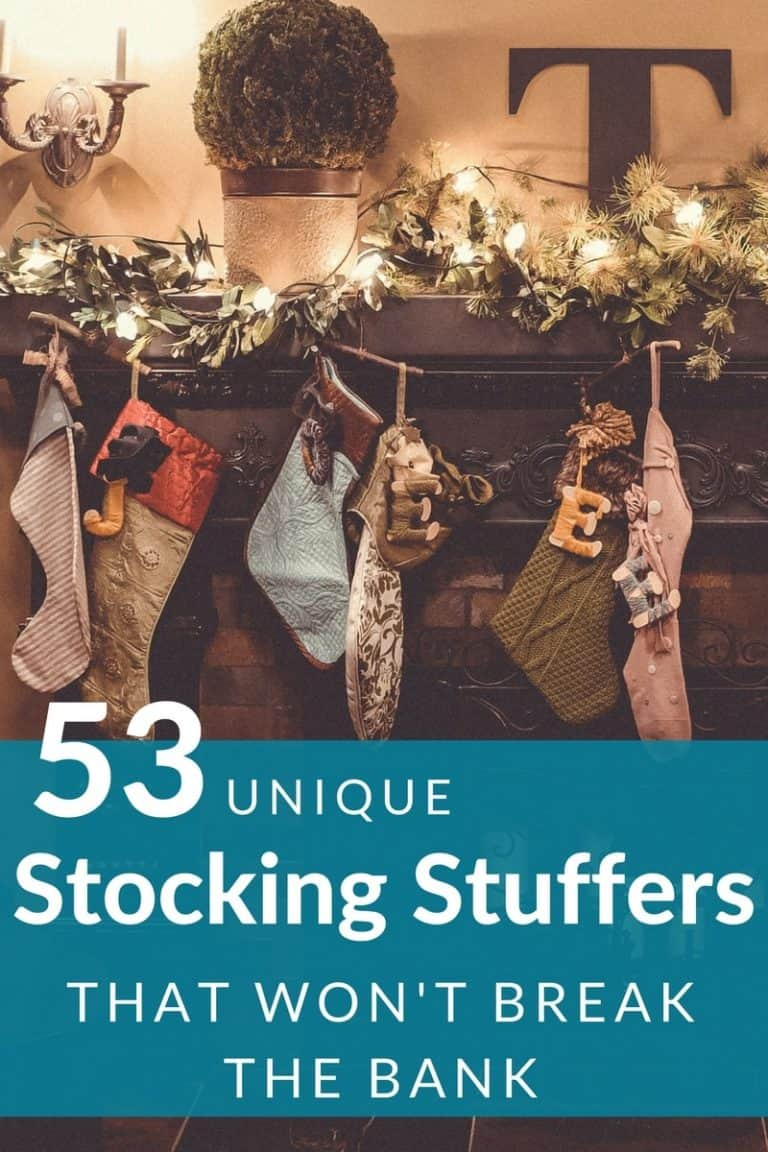 53 Unique Stocking Stuffers for Adults and Teens – Under $10
