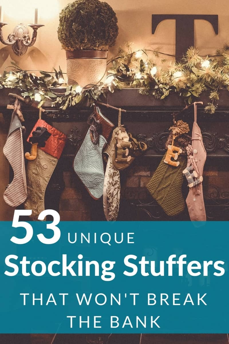 Unique Stocking Stuffers For Adults And Teens Under 5