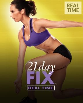 Beachbody on Demand Program Cover for the newer 21 day fix workouts shot in real time
