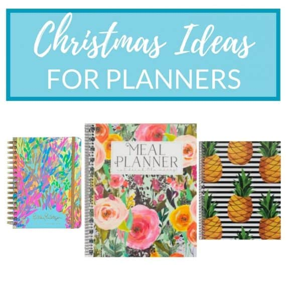 Christmas Gift Ideas 2017 planners