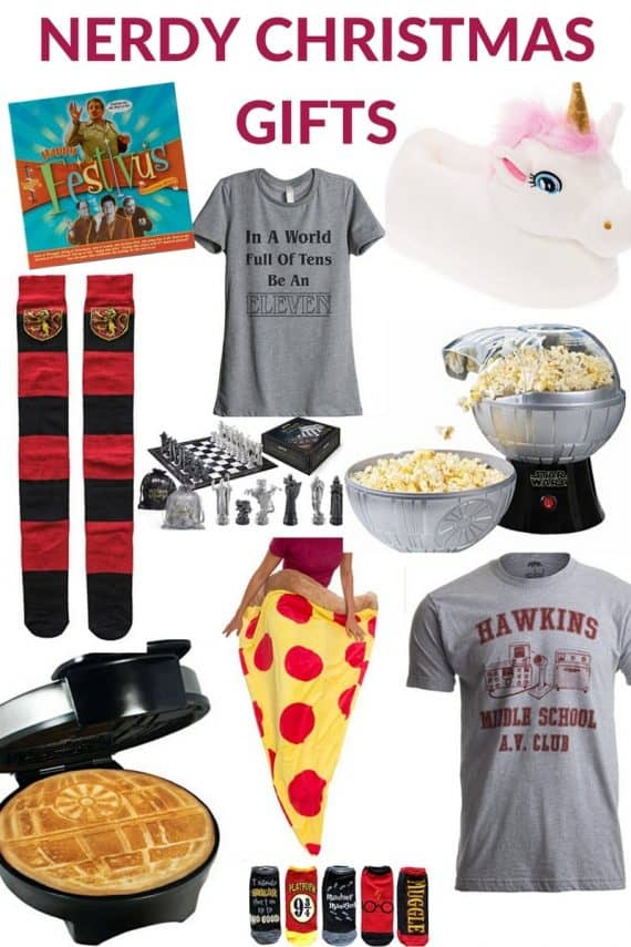 Nerdy Christmas Gifts 2017
