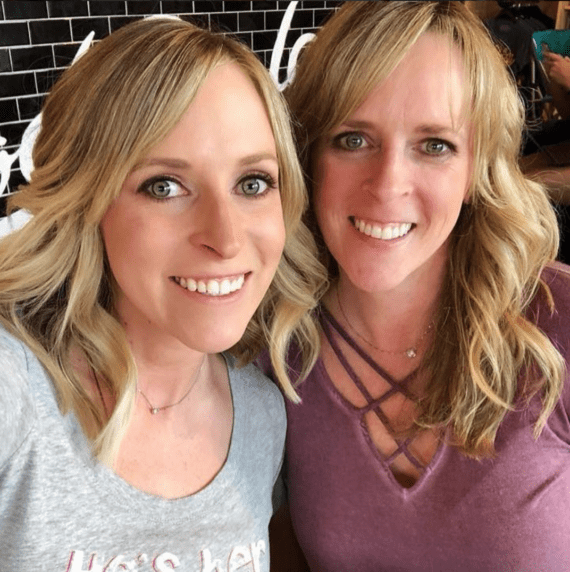 Kalee (29) and Kim (47) after using Collage Peptides from Vital Proteins