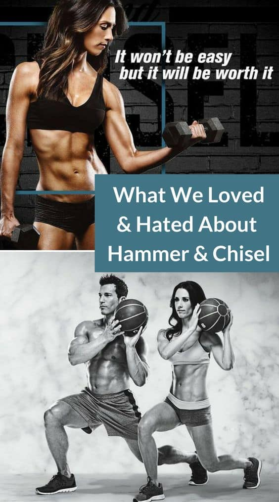 """Collage of 2 Photos from Hammer and Chisel with the words """" what we loved & hated about Hammer & Chisel"""""""