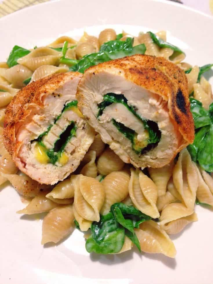 These chicken roll ups are one of our favorite 21 day fix recipes