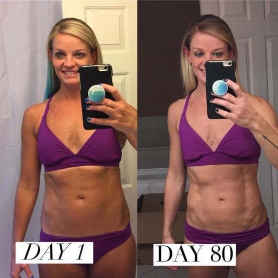 80 Day Obsession before after