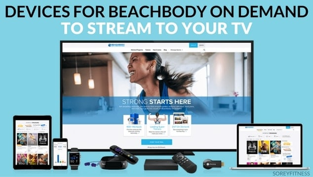Beachbody on Demand Supported Devices