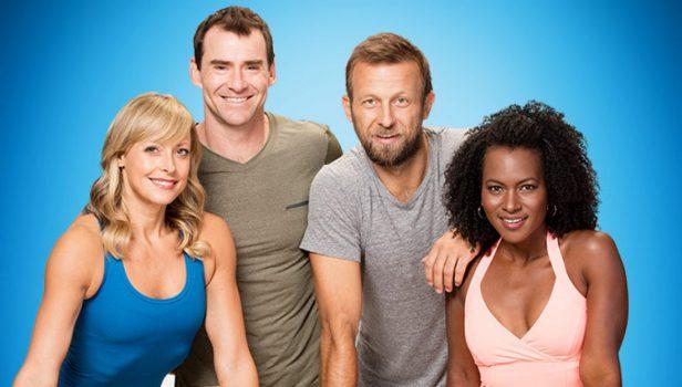 beachbody's 3 week yoga retreat trainers - Ytvas, Elise, Ted, and Faith