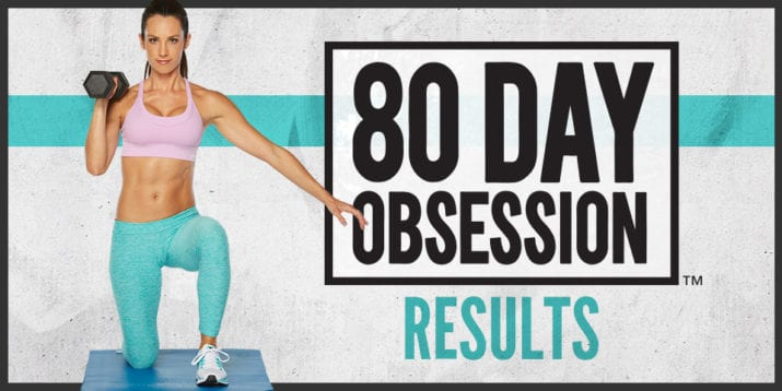80 Day Obsession Test Group Results – Before and After Photos