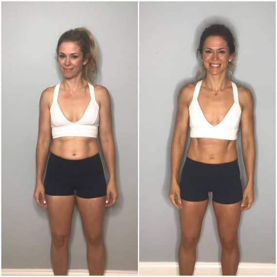 Womens 80 Day Obsession Results Before and After