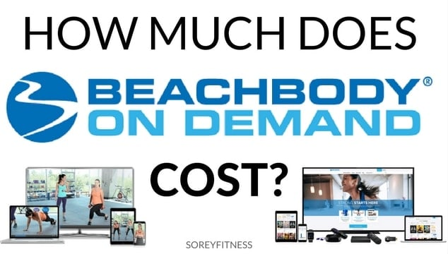 how much does beachbody on demand cost