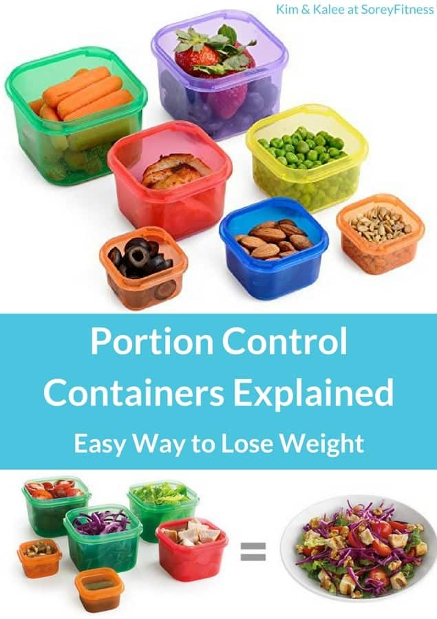 Portion Control Containers Explained Simple Way To Lose